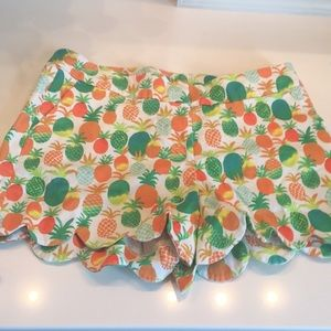 Crown &ivy pineapple shorts